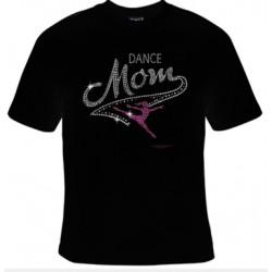 Dance Mom Rhinestone Tee (Short/Long Sleeves)