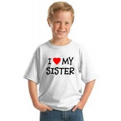 I Love My Sister Youth Tee