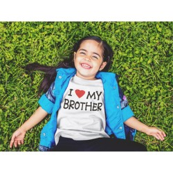 I Love My Brother Youth Tee
