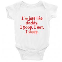 I'm Just Like My Daddy Onesie