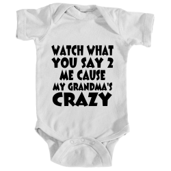 Watch What You Say Onesie