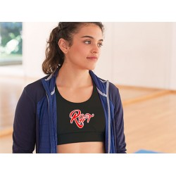 Rock Her Tees Sports Bra
