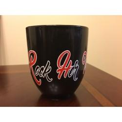 Rock Her Tees Black Mug