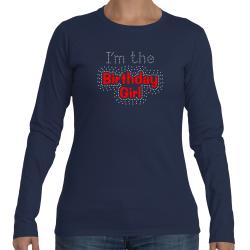 I'm The Birthday Girl Rhinestone Tee