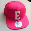 Letter Flat Bill Hat