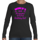 World's Most Awesome Birthday Girl Tee