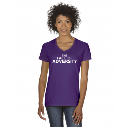 The Face of Adversity V-neck