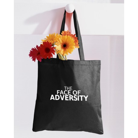 12oz Face of Adversity Tote Bag