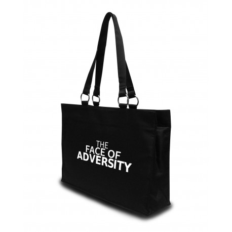 Face of Adversity Large Tote Bag