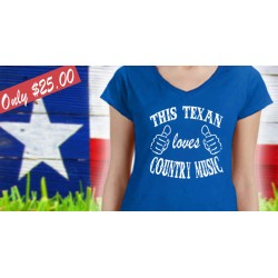 This Texan Loves Country Music