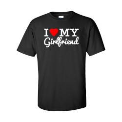 I Love My Girlfriend Tee